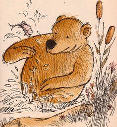 Animalarium: Seasons of the Bear Arnold Lobel, Red Fox and his Canoe, 1964