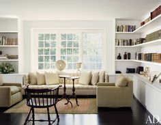 Bookshelf Paint Ideas and Inspiration Photos | Architectural Digest