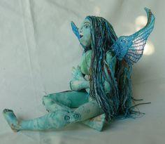 Fairy doll by cherrycottagecrafts