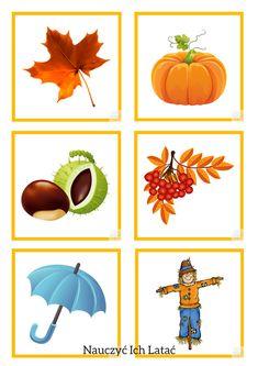 Nauczyć Ich Latać, dekoracje, przedszkole Fall Preschool, Crafts For Kids, Diy Crafts, Montessori Materials, Autumn Crafts, Friendship Bracelet Patterns, Creative Kids, Teaching English, Fall Halloween