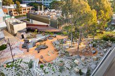 Earth Sciences Garden, Monash University by Rush Wright Associates « Landscape Architecture Works | Landezine #landscapearchitecturecourtyard
