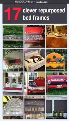 Repurposed Bed Frames ...