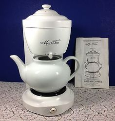 Mrs. Tea Hot Tea Maker by Mr. Coffee Model HTM 1 Complete with Manual