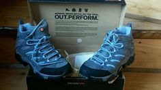 Woman's shoes Merrell out.perform hikers gortex waterproof  #Merrell…10% goes to support lyme disease!