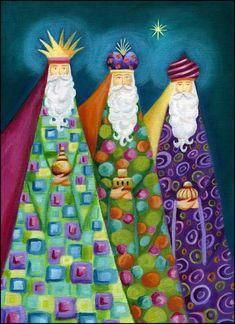 Epiphanie - Les rois mages illustrés - Ileana Oakley