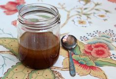 homemade healing and nourishing cough syrup
