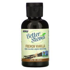 Now Foods, Better Stevia, Zero-Calorie Liquid Sweetener, French Vanilla