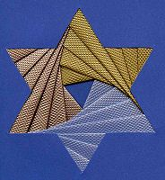 Star of David & Dreidel patterns -   Iris Folding @ CircleOfCrafters.com: Hanukkah Patterns