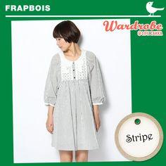 Frapbois 中袖 One Piece 裙  US$254.47