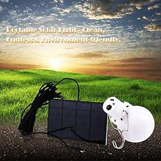 Outdoor Solar Reading Lamp