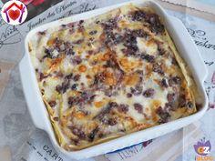Con l'autunno arrivano tante buone verdure da poter usare nei nostri piatti. Una delle mie preferite è il radicchio... provate queste lasagne al radicchio con salsiccia e taleggio.