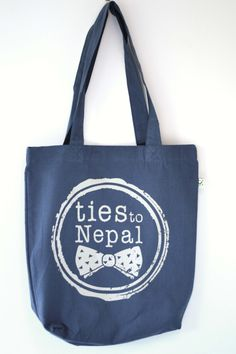 ~ 100% organic cotton, ethical manufactured, screenprinted tote bags ~ all money raised through the sale of ties to Nepal products goes towards supporting PhD research into women's health in Nepal ~  www.etsy.com/au/your/shops/tiestoNepal www.facebook.com/TiesToNepalFundraising www.instagram.com/tiestonepal www.twitter.com/tiestoNepal