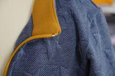 Jak ušít dětskou mikinu na zip - návod (FOREST) - Prošikulky. Sewing Clothes, Sling Backpack, Backpacks, Zip, Fashion, Moda, Stitch Clothing, Fashion Styles, Backpack