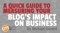 @02809Photo Quick Guide to Measuring Your Blog's Impact on Business