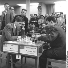 Bobby Fischer vs Mikhail Tal