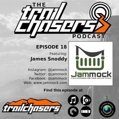 Hey go #download the latest episode of the #trailchasers #podcast. We talk to James from #jammock and learn about how he got the product off the ground. It's a great story.  #jeep #jeeptalkshow #jk #jku #wrangler #offroad #listen #ichasetrails #chaseyouradventure #cj #tj #cherokee #grandcherokee
