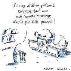 « Les Indégivrables», par Xavier Gorce