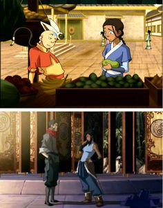 The Avatar's flirting stance