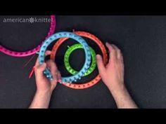 Boye Brand Round Knitting Loom Review - YouTube