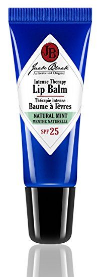 Jack Black Intense Therapy Lip Balm SPF25, Natural Mint and Shea Butter 7 g #men