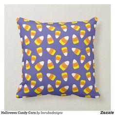 Halloween Candy Corn Throw Pillow Halloween Pillows, Halloween Candy, Candy Corn, Custom Pillows, Party Hats, Art Pieces, Throw Pillows, Make It Yourself, Toss Pillows