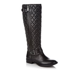 """Vince Camuto """"Fredrica"""" Quilted Leather Riding Boot"""
