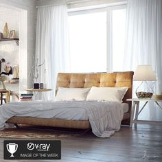 """Vray Workshop Image of the Week No.8th: Ramon Zancanaro - """"The G-Spot of the Bed and Art"""" 