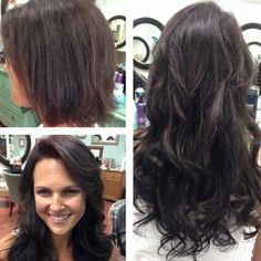 Amazing before and after using Glam Seamless Tape-In Hair Extensions. Did you ge… Amazing before and after using Glam Seamless Tape-In Hair Extensions. Did you get your glamformation? Seamless Hair Extensions, Tape In Hair Extensions, Medium Hair Styles, Short Hair Styles, Hair Extensions Before And After, New Hair Do, Hair Addiction, Long To Short Hair, Glamour
