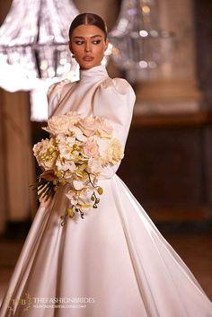 Milla Nova 2021 Spring Bridal Collection – The FashionBrides Muslim Wedding Dresses, Event Dresses, White Wedding Dresses, Ball Dresses, Wedding Gowns, Ball Gowns, Flower Girl Dresses, Fall Wedding, Lela Rose