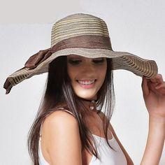 Beach Sun Hat with Foldable Brim 9822b284cfa5
