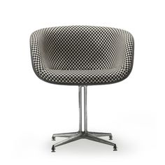 Herman Miller La Fonda chair. Chair by Charles and Ray Eames, textile by Alexander Girard
