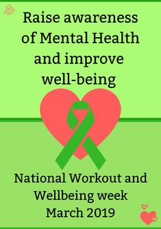 Did you know that 25 march is the week of National Workout and Well-being 2019?  It is extremely important to raise awareness, support those around you that are suffering from mental health problem, and seek help from a counseling if you feel you are suffering from any form of mental illness or mental health problem.    Here's 14 tips included some activities  to re-balance our mental health  #mentalhealthawareness #greenribbon