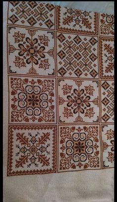 Blackwork, Palestinian Embroidery, Cross Stitch Pillow, Ribbon Embroidery, Free Knitting, Cross Stitching, Cross Stitch Patterns, Diy Crafts, Pillows