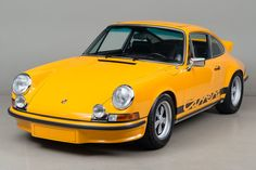 1973 Porsche 911 Carrera RS 2.7 Touring VIN: 9113600856 0856 was registered by its first owner in April of 1973 in Germany. The second German owner purchased the car in 1978. He took it in part exchange for a Carrera 3.0 and stored the car until 1985 in a dry garage. At that time the …