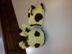 Crochet Baby Giraffe Set