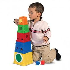 Learning Stacking Blocks Toy | whatgiftshouldiget.com