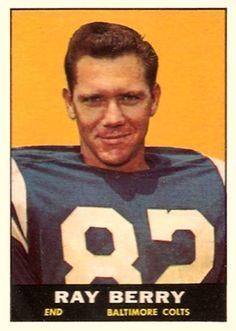 Raymond Berry - 1961 Topps #4