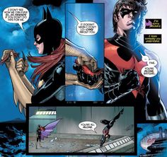 Nightwing(Dick Grayson) and Batgirl(Barbara Gordon) what happen to them?
