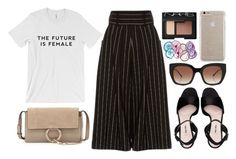 """THE FUTURE IS FEMALE"" by mariimontero ❤ liked on Polyvore featuring J.W. Anderson, Miu Miu, Chloé, NARS Cosmetics, RabLabs, Thierry Lasry and Case-Mate"