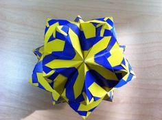 Origami Instructions: Hurricane Kusudama
