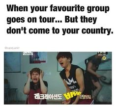 Or they ONLY go to New York or California and you live in Florida!!