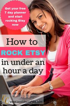 So you've started your Etsy shop and now you're just sitting back watching all those orders that are pouring in, right? NO?! Well why not??? Don't worry, I'm going to tell you how to rock Etsy in under an hour a day. And guess what?!? It's pretty easy!