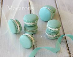 Macarons ricetta facile e infallibile il mio saper fare Macarons, Macaron Recipe, Sweetest Day, Eclairs, Summer Recipes, Food To Make, Food And Drink, Sweets, Video