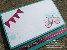 Stampin' Up!® Pedal Praise August Paper Pumpkin Kit Idea - Stamp Your Art Out!