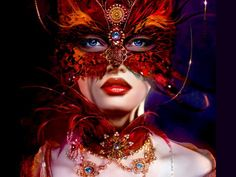 Masked Lady - click on Download Now! for largest size