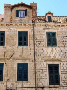 Windows // Dubrovnik, Croatia