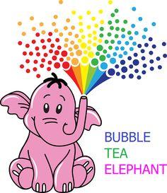 BUBBLE TEA ELEPHANT