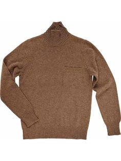 Man wool turtleneck sweater Made in Italy