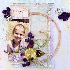 Project by Rae Moses using the Swirlydoos July 2014 kit, Celestial Summer.  swirlydoos.com