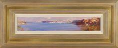 #14183 Ken Knight Harbour Panel 32cm x 77cm